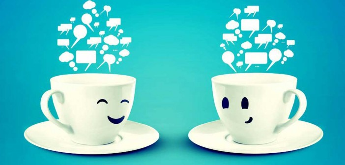 Tea cups using different communication styles