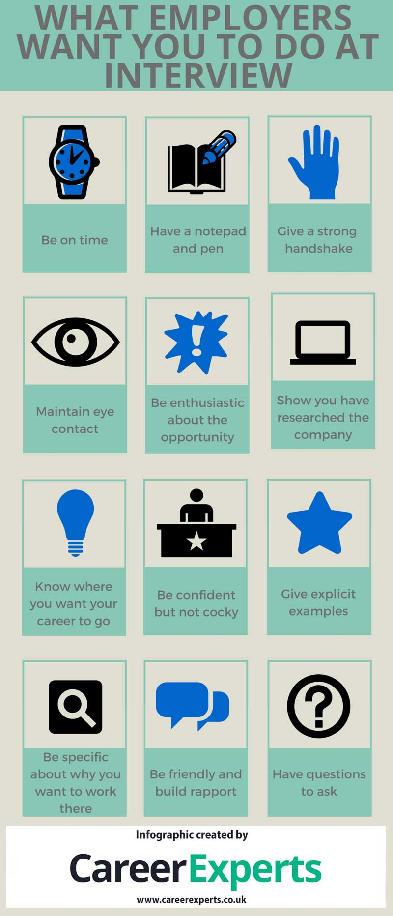 what are employers looking for at interview career experts what employers looking for interview infographic