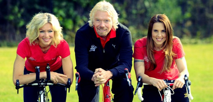 Richard Branson's skills have taken him to the top.