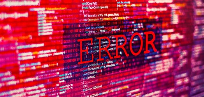 CV tips error