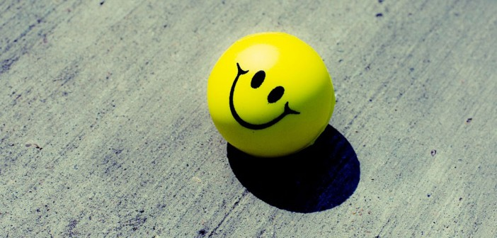 Positive attitude at work stress ball