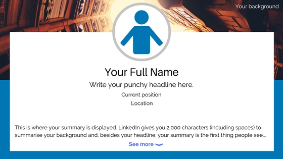 Linkedin for beginners - your LinkedIn profile