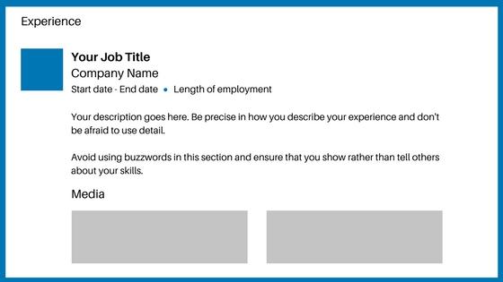 LinkedIn for beginners - LinkedIn experience