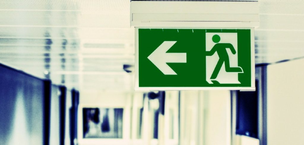 why did you leave your last job exit sign