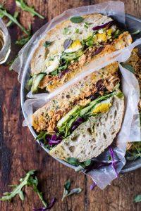 healthy lunch ideas for work tuscan tuna sandwich