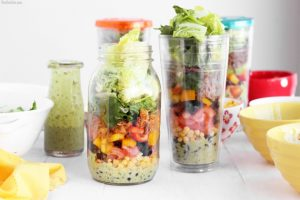 healthy lunch ideas for work taco salad