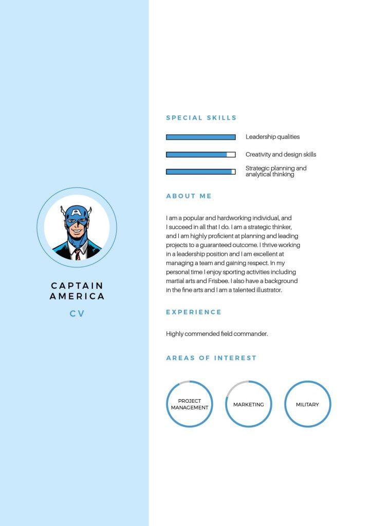 Captain America CV