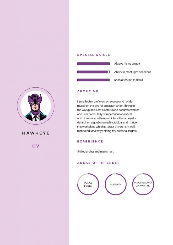 Hawkeye CV