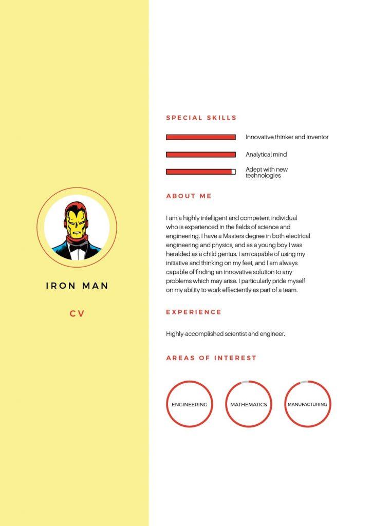 Iron Man CV